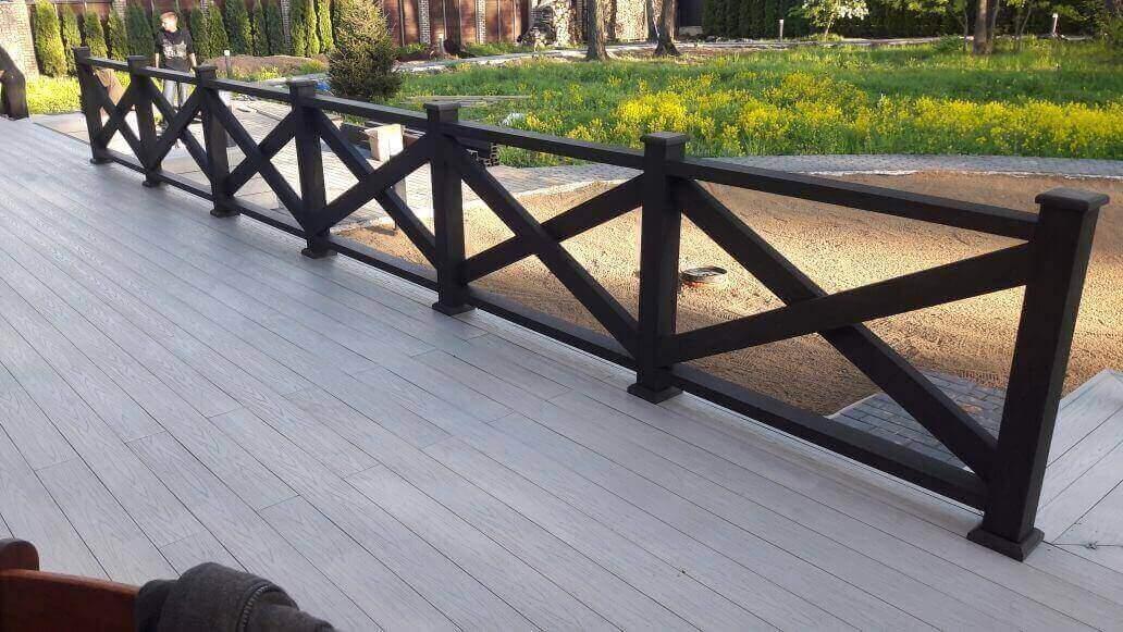 Строительство террасы у дома